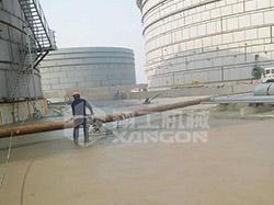 带你来看下抹guang机的施工xiao果